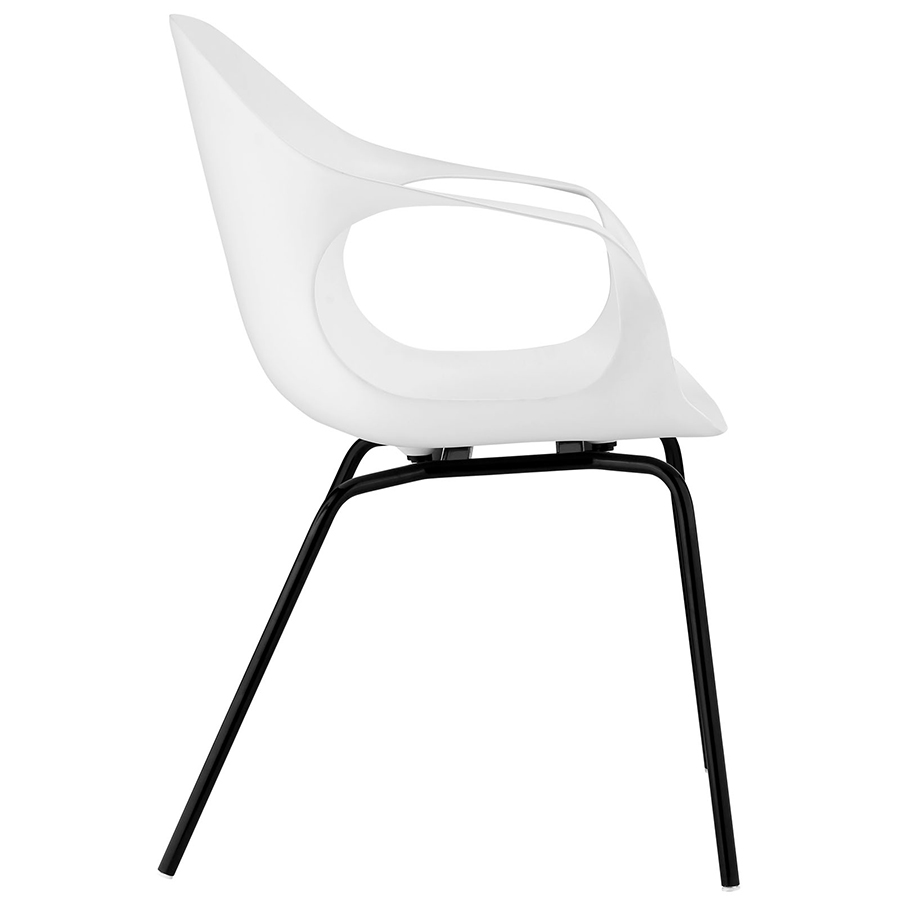 Sacramento Modern Dining Chair - Side View