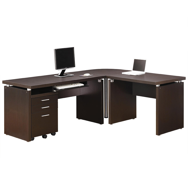 Salem Modern L-Desk Set