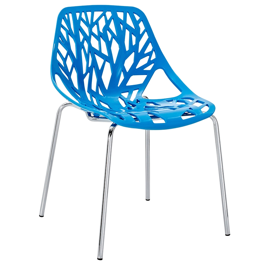 Sequoia Blue Modern Dining Chair