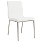 Smith Modern White Dining Chair