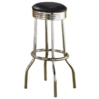 Soda Fountain Retro Bar Stool