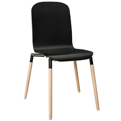 Spain Black Modern Dining Chair