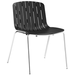 Taurus Black Modern Dining Chair