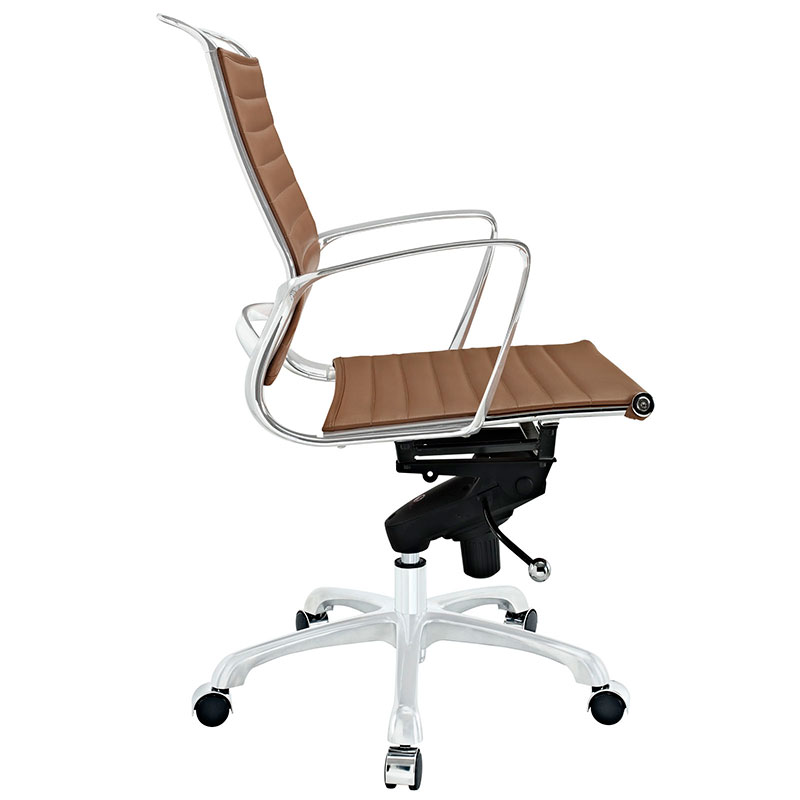 Techno Low Back Tan Office Chair