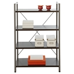 Thomas Wide Bookcase in Espresso