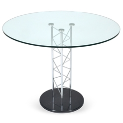 Thorpe Modern Classic Glass Dining Table