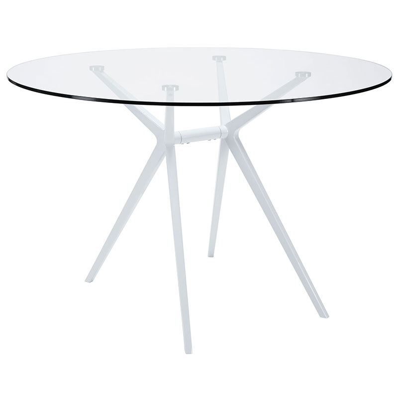 travis modern dining table