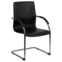 Vance Black Modern Arm Chair