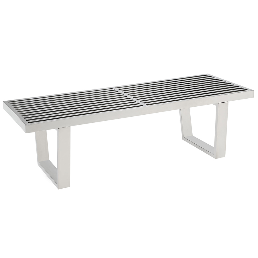 Vector 48 Modern Stainless Steel Bench Eurway Modern