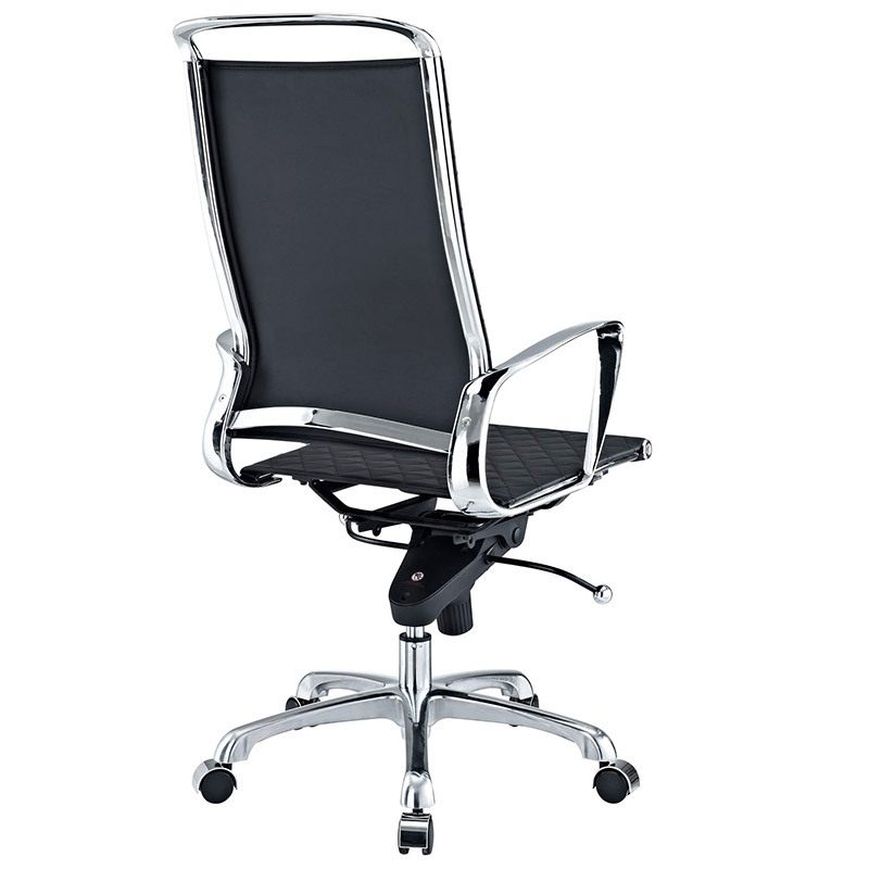 Vincent Modern High Back Office Chair - Back View