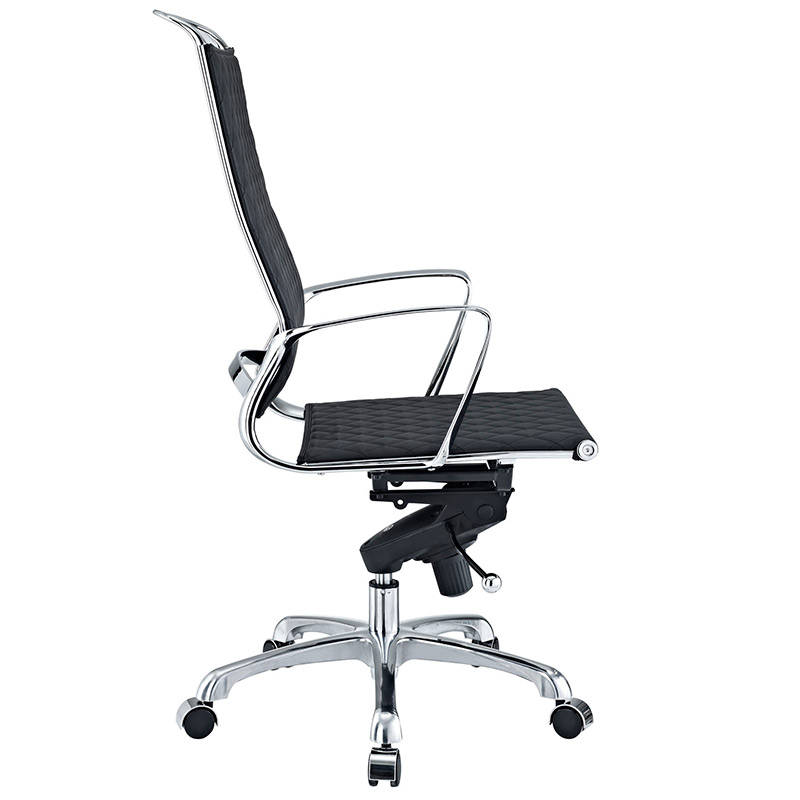 Vincent Modern High Back Office Chair - Side View