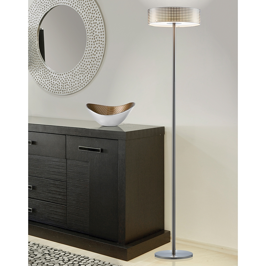 Watson Contemporary LED Floor Lamp