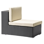 Carmen Modern Outdoor Armless Chair