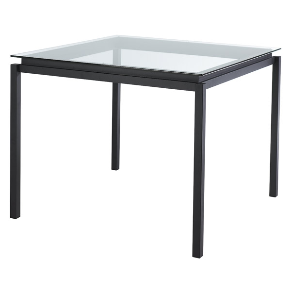 Spencer Bar Table in Black Coral