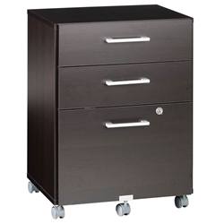 600 Plus Mobile File Cabinet in Coffee