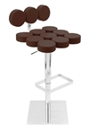 telia modern adjustable barstool