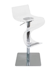 acrylic viva bar stool