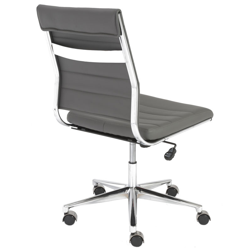 alex armless low back office chair - back