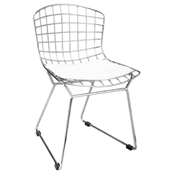 childrens modern wire chair