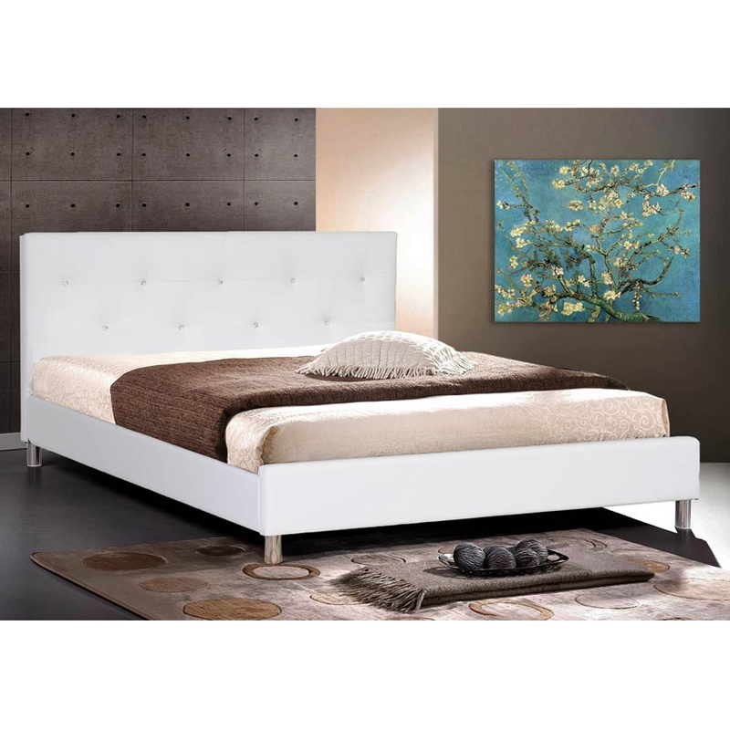 Jane Bed in White