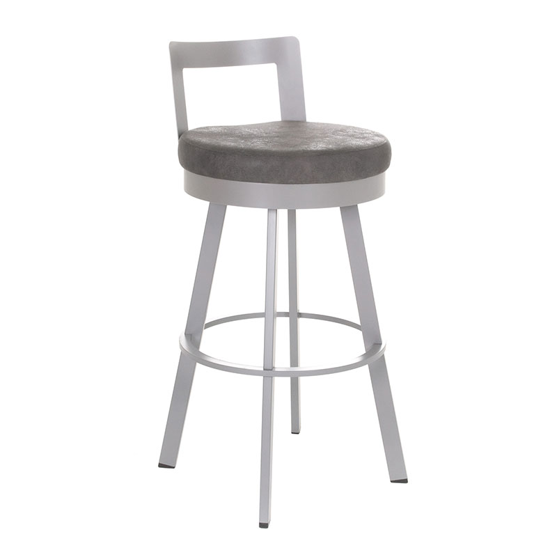 Belfast Counter Stool in Platina and Anis