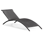 Becka Modern Outdoor Chaise Lounge