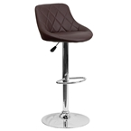 Birmingham Bar Stool in Brown