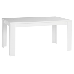 Block Modern Dining Table in White