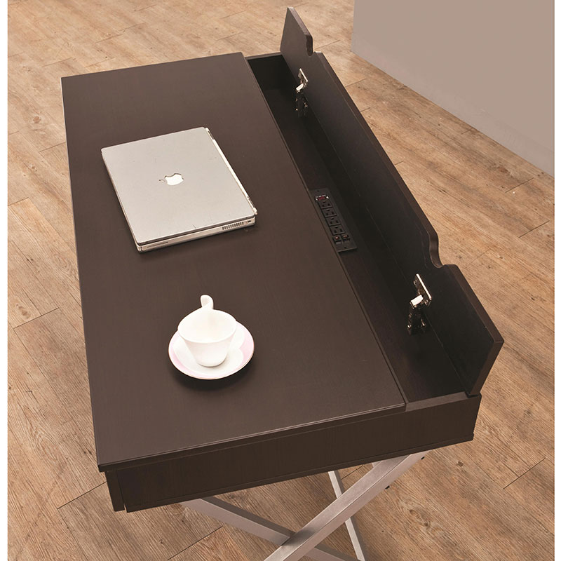 Callahan Contemporary Desk with Compartment