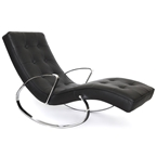 Callaway Modern Rocking Chaise Lounge