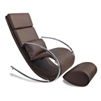 Claire Modern Rocking Chair + Ottoman