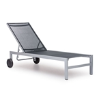 Clarksville Modern Outdoor Chaise Lounge