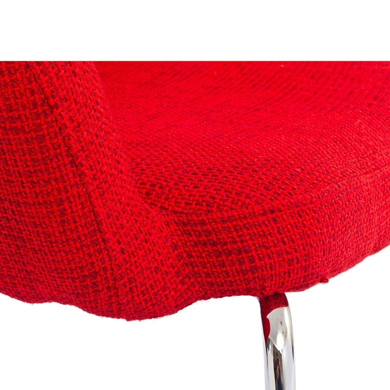 coburg arm chair - red detail
