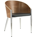 conley modern dining arm chair