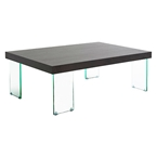 Connor Modern Glass Cocktail Table