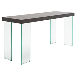 Connor Modern Glass Console Table