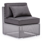 Covington Modern Outdoor Armless Chair