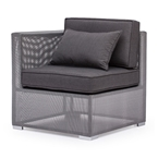 Covington Modern Outdoor Corner Chair
