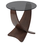 criss cross modern end table