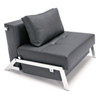 cubed deluxe chair in black