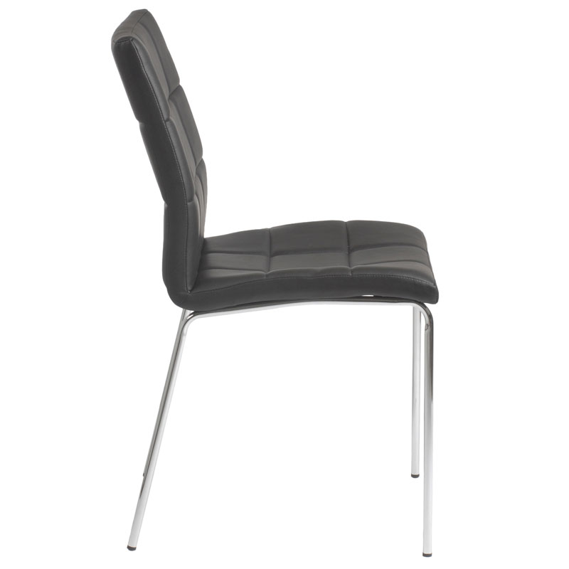 Modern Dining Chairs Cybil Side Chair Eurway : cyd side chair black side from www.eurway.com size 800 x 800 jpeg 23kB