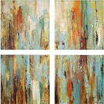 dawn modern canvas wall art set