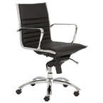 drake low back office chair