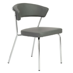 Drake Modern Dining Chair - Gray