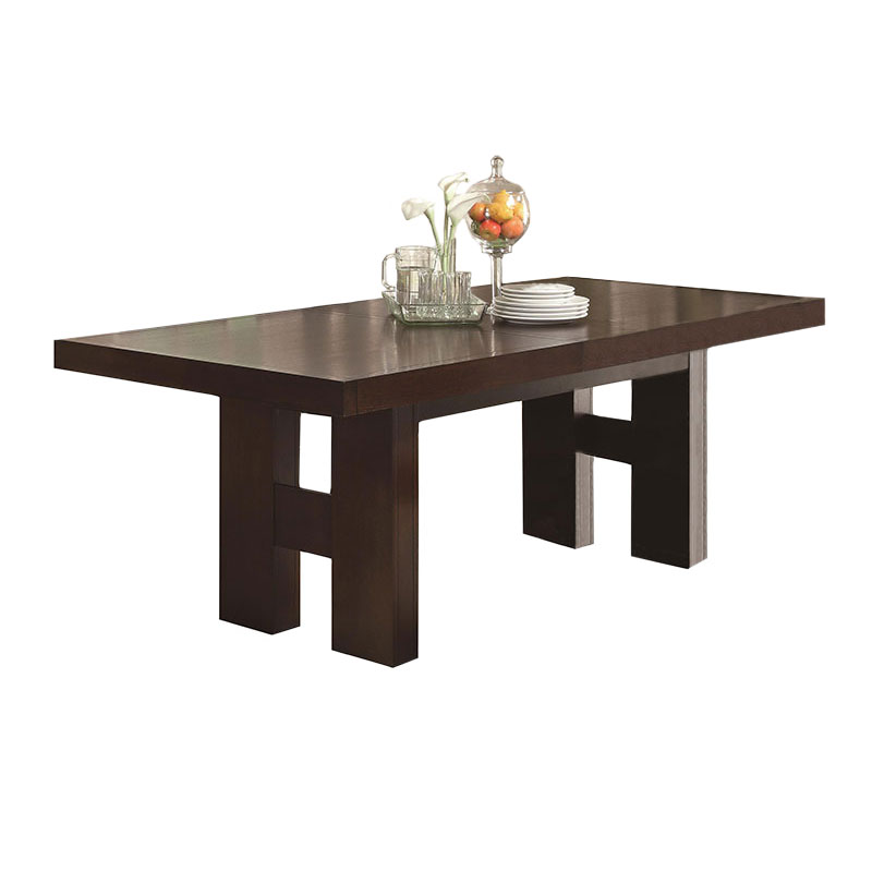 Modern dining tables dublin dining table eurway for Modern dining t