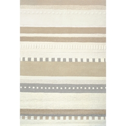 Earth Tones Contemporary Rug