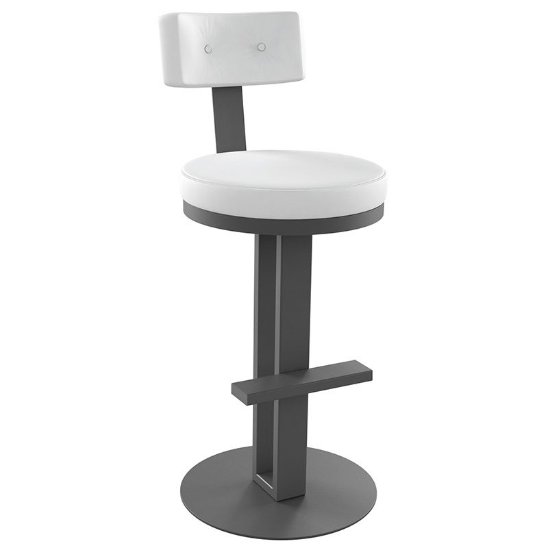 White Contemporary Bar Stools Images