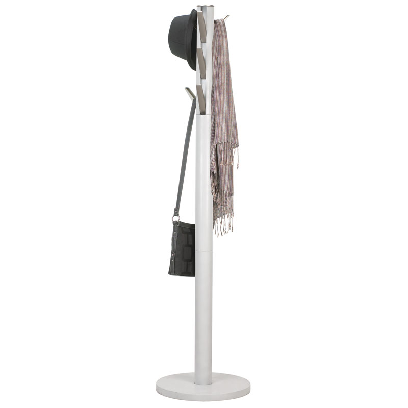 Flapper Modern Coat Rack in White