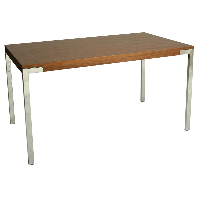 Fairbanks Modern Walnut Dining Table Eurway Furniture