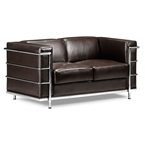 Fortress Loveseat in Espresso